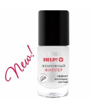 <LUX visage> Средство для ногтей HELP! Жемчужный филлер 8.3г/6
