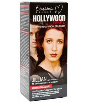 <Белита-М> &quot;Hollywood&quot; Крем-Краска № 398 Джилиан темно-махагоновый