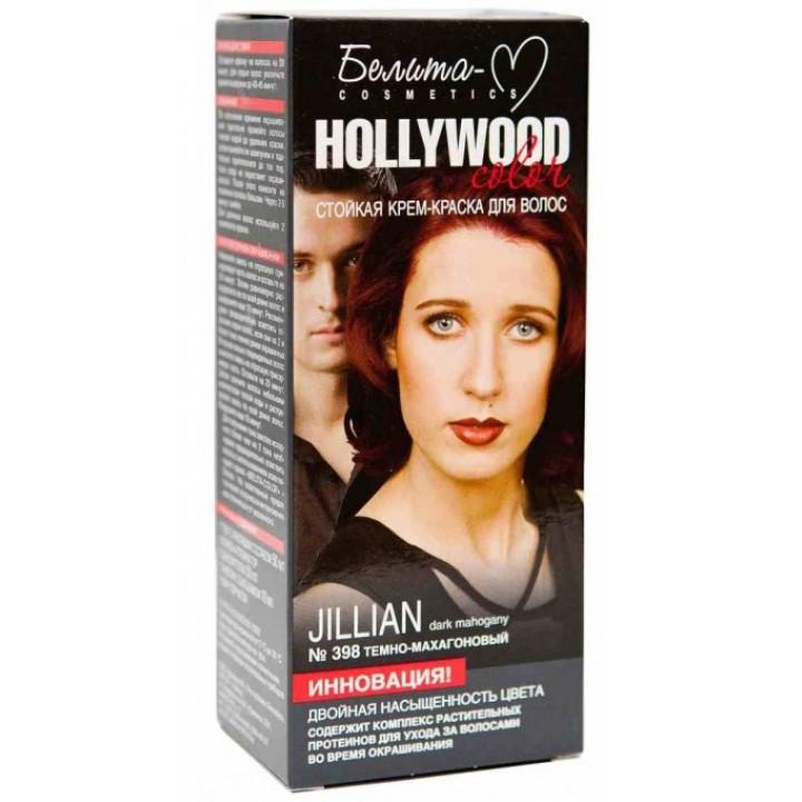 """""""Hollywood"""" Крем-Краска № 398 Джилиан темно-махагоновый"""