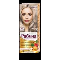 Крем-краска для волос Рябина Intense №216 Пепельный блонд