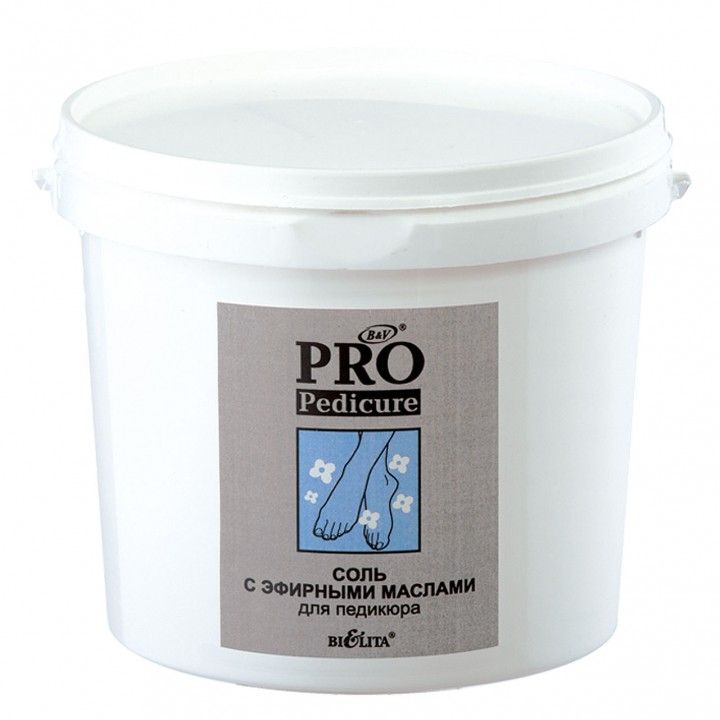 Pro pedicure СОЛЬ с эфирными маслами для педикюра 1000г