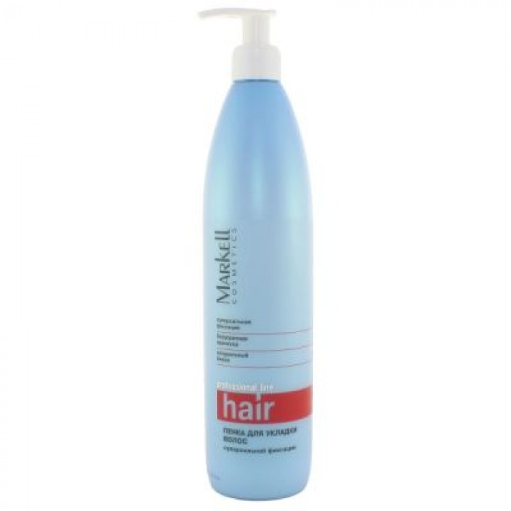 <Маркелл> &quot;ПрофЛиния&quot; Пенка д/укладки волос с/ф 500мл