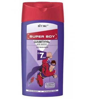 SUPER BOY Шампунь для волос д/мальчиков с 7 лет 275 мл