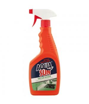 <АКВАСАН> Ср-во для мытья кухонных поверхностей &quot;Чистая кухня&quot; бут. 500мл
