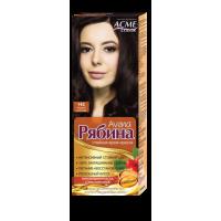 Крем-краска для волос Рябина Avena №142 Черный Шоколад Экми-Колор