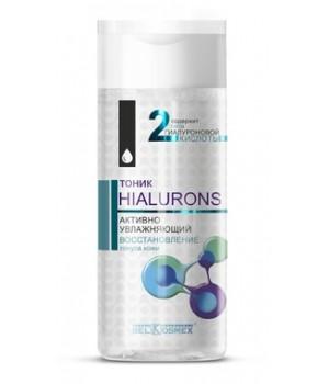 <Belkosmex> Hialurons Тоник активно увлажняющий восстановление тонуса кожи 150мл