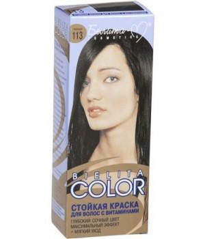 <Белита-М> Краска стойкая для волос &quot;Bielita Color&quot; c витаминами №113 (чёрный) 50/16