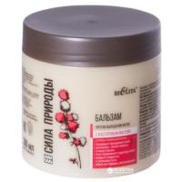 <Bielita> Сила природы Бальзам с касторовым маслом против выпаденм маслом против выпадения волос 380