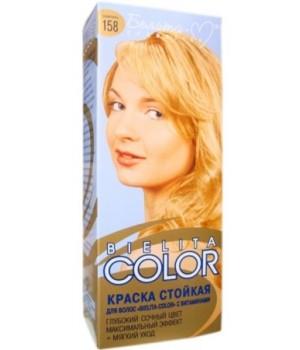 <Белита-М> Краска стойкая для волос &quot;Bielita Color&quot; c витаминами №158 (шампань) 50/16