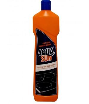 <АКВАСАН> Ср-во чистящее Крем &quot;Aquasun&quot; бут. 500мл