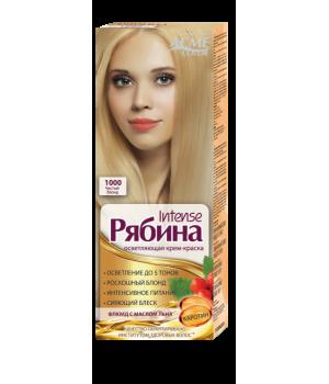 Крем-краска для волос Рябина Intensе №1000 Чистый Блонд