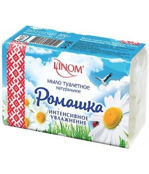 <Лином> Мыло твердое туалетное марки Классическое Ромашка (Экономпак) 300г