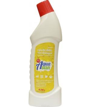 <АКВАСАН> Средство чистящее для сантехники &quot;Лимон&quot; &quot;5в1&quot; с доз. 750 мл