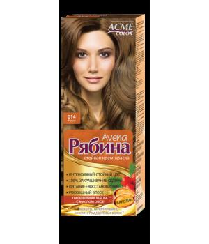 Крем-краска для волос Рябина Avena №014 Русый Экми-Колор