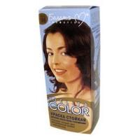 <Белита-М> Краска стойкая для волос &quot;Bielita Color&quot; c витаминами №186 (гор. шоколад) 50/16