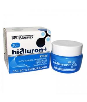 <Belkosmex> Hialuron+ Крем ИНТЕНС.УВЛАЖНЕНИЕ+ПОВЫШЕНИЕ УПРУГОСТИ и ЭЛАСТ. д/всех типов кожи