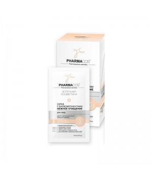 <Biтэкс> PHARMACOS Скраб для лица с биокомпонентами нежное очищение 10 саше по 10 мл.