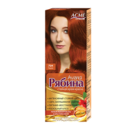 Крем-краска для волос Рябина Avena №734 Тициан Экми-Колор