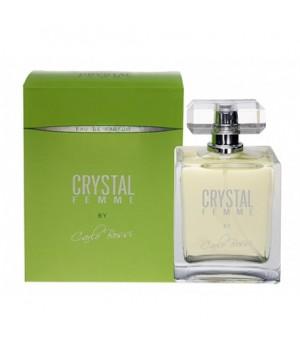 <Карло Босси> Парфюмерная вода для женщин CRYSTAL FEMME GREEN 100 мл. Carlo Bossi/24/Ма