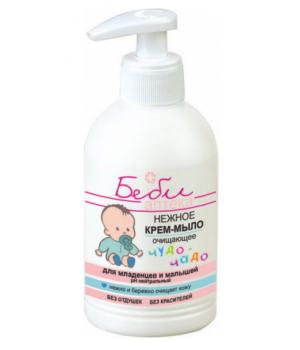 <Biтэкс> БЕБИ аптека чудо-чадо Нежное крем-мыло очищающее для младенцев и малышей 300мл