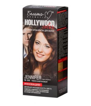 <Белита-М> &quot;Hollywood&quot; Крем-Краска № 335 Дженифер темно-каштановый