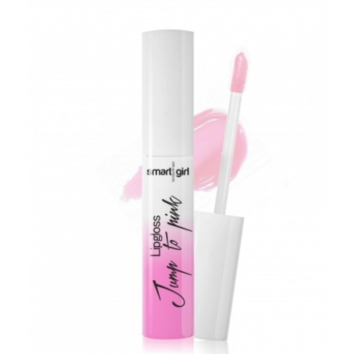 "Блеск для губ меняющий цвет ""Smart girl"" Jump to pink 002"
