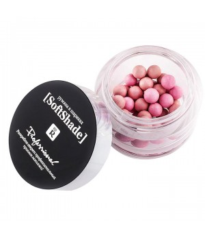 <Relouis> Soft Shade Румяна в/шариках Professional Soft Shade 01 Натур.розовый РБ332-12