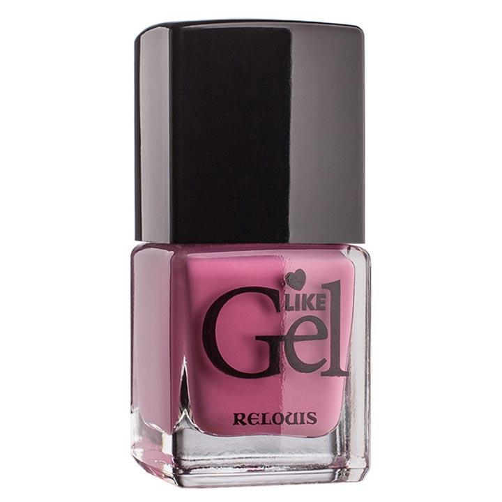 """<Relouis> Лак для ногтей с гелевым эффектом """"Like Gel"""" тон:01 Нежный пион 1/6"""
