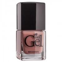 """<Relouis> Лак для ногтей с гелевым эффектом """"Like Gel"""" тон:05 Винтажный розовый 1/6"""