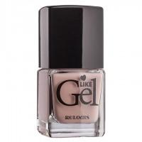 """<Relouis> Лак для ногтей с гелевым эффектом """"Like Gel"""" тон:06 Песочный бисквит 1/6"""