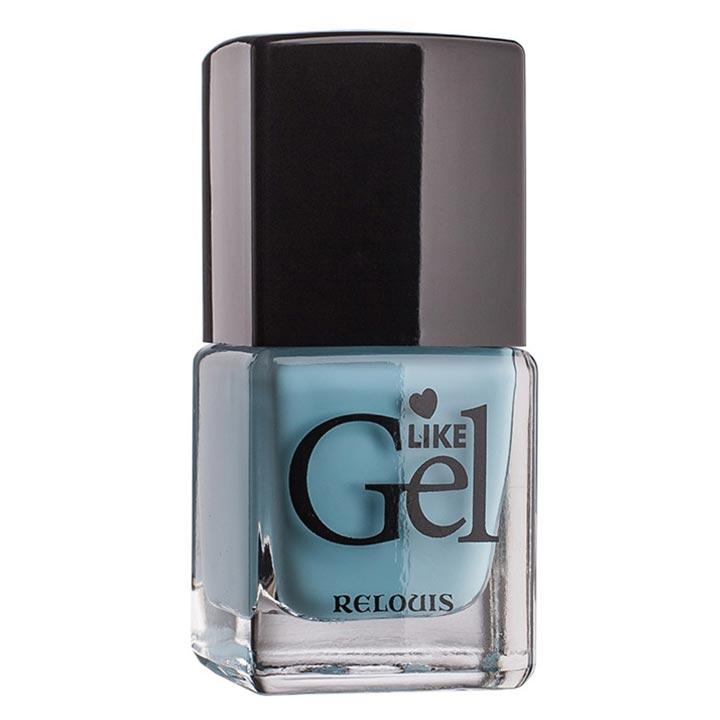 """<Relouis> Лак для ногтей с гелевым эффектом """"Like Gel"""" тон:09"""